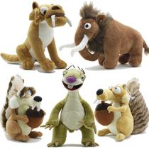 冰河世纪松鼠树懒猛犸象等全套毛绒公仔玩偶世纪玩具冰川特价包邮 价格:28.60