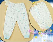 【正品清仓】润邦内衣/双面布印花单长裤/黄/蓝/粉/6M 价格:8.01