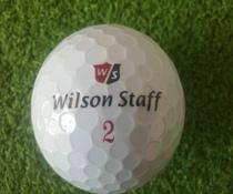 【正品】wlson staff 高尔夫球 二手高尔夫球 特价 dvd 价格:3.60