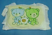 川雀花边纯棉印花小枕/定型枕头(决明子四季婴儿枕)  D41 价格:16.00