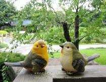 热销款 园林外贸工艺品 家居摆设 花园庭院假山装饰 小鸟摆件 价格:28.00