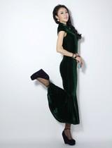 春装气质欧美修身短袖长裙连衣裙 复古 裙子品牌韩国女装拼接宽松 价格:95.90