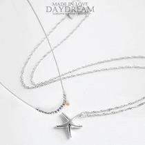 韩国代购 特《间谍明月》韩艺瑟金贤珠海星+串珠Set品牌银项链 价格:604.00