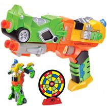 变形金刚软弹枪射击玩具 亲子对战玩具EVA软弹手枪 24发子弹版 价格:46.00