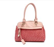 雷洛斯天使 VIVI时尚女士鸵鸟纹单肩手提包包带锁扣手袋D11222-01 价格:219.00