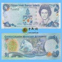 全新UNC   开曼群岛 1 元 2003年 P30 发现开曼500周年纪念钞 价格:98.00