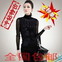 2013哥弟代购专柜正品女装新款高领打底衫 女特价GA37262T17711-7 价格:98.00
