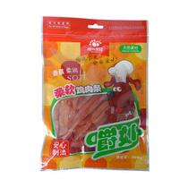 拍拖宝贝 嚼妙犬用 柔软鸡肉条200g 狗零食宠物零食 同规格四送一 价格:25.00