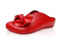 夏秋季 牛皮拖鞋 红色凉拖 真皮拖鞋 室内拖鞋高档拖鞋特价清仓 价格:50.00