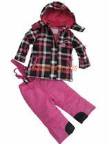 外贸 女中大童亲子户外滑雪服套装 冲锋衣 运动服 棉袄 棉裤 棉衣 价格:274.55