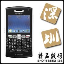 黑莓8820智能手机,超强GPS,WIFI智能全键盘 双原电送蓝牙耳机 价格:800.00