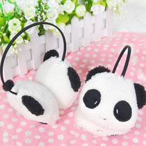 冬季热销优质韩版可爱卡通毛绒耳套 熊猫保暖耳罩小兔子耳捂耳包 价格:6.99