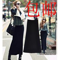 2013包邮欧美风秋冬装新品半身长裙纯色修身款显瘦包臀裙子棉女 价格:39.00