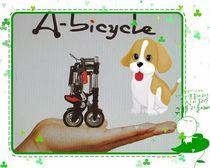 迷你加厚铝合金折叠自行车 8寸 abike小型地铁自行车 时尚健身车 价格:500.00