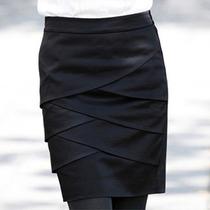 2013韩国SZ新款夏装女装包臀裙ol花苞裙西装裙短裙半身裙职业中裙 价格:68.00