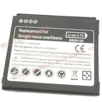 谷歌Google Nexus One  Desire N1 G5 G7 手机电池 1600MAH 价格:60.00