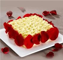 徐红南京跑车蛋糕直营店|玛莉莲情人(含酒)生日蛋糕 价格:120.00