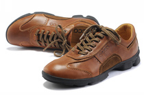 正品艾步男子户外皮鞋 男式休闲皮鞋Outdoor leather shoes徒步鞋 价格:238.00