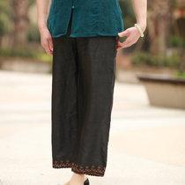 爱妈美专柜品质妈妈装 真丝香云纱裤子 中老年夏装女装裤子*M7025 价格:213.00