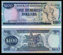 圭亚那100圭亚那版图 圣乔治大教堂  圭亚那版图 全新保真 外币 价格:13.00