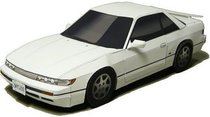 【777纸模型】头文字D S13 Silvia跑车模型 价格:9.00