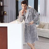 2012新款 姬玛 男士秋季睡衣 珊瑚绒睡袍7983家居服 价格:129.63