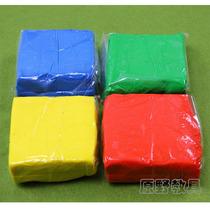 特价单色彩泥*橡皮泥*幼儿园专用*彩色橡皮泥*捏泥巴无毒不干 价格:5.00