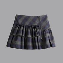 雅圣迪奥雪2012 专柜正品同款秋装女装错落感俏皮毛呢短裙1481373 价格:89.00