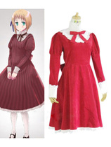 Axis powers hetalia 黑塔利亚 cosplay  Liechtenstein红色裙子 价格:298.00