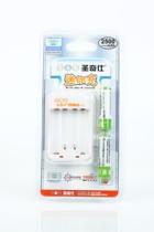 圣奇仕正品SUNQS 2500毫安迷你充电器套装2节5号充电电池带充电器 价格:35.00