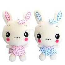 穿裙点点兔公仔 穿裙流氓兔 穿裙兔毛绒玩具 大眼兔 价格:39.00