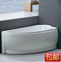 包运小卫生间异型按摩亚克力三角浴缸扇形贵妃浴盆双人1.5米3059 价格:1450.00