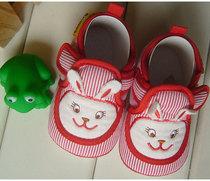康美儿正品 春秋季新款童布鞋婴儿学步鞋 宝宝防滑软底鞋子 单鞋 价格:17.90