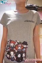 来印吧完美T恤坊 约翰尼德普角色大集合 高品质灰色黑色白色T恤 价格:60.00