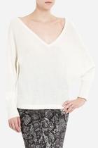 美国代购正品BCBGMAXAZRIA WYATT V-NECK WOOL-BLEND女款针织衫 价格:1388.00