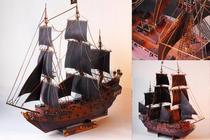 特价秒杀 加勒比海盗黑珍珠号纸模型(珍藏版)(包邮) 价格:21.00