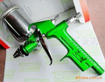 台湾GREEN得力绿牌 F-2喷枪 小型喷漆枪F2 皮革皮具小工艺品用 价格:90.00