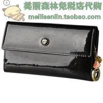 免税专柜正品|MCM经典时尚长款女士钱包/MYL1AIV40EC001 价格:1628.00
