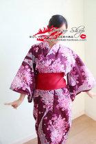 日本精品 外贸原单 日单高品质 纯棉女士和服浴衣 繁花似锦 价格:106.90