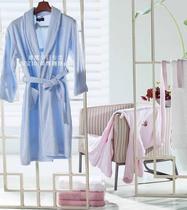 孚日大家纺专柜正品 速吸水长绒棉毛圈织造 清雅 浴衣浴袍 男女款 价格:382.50