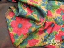 夏款服装制衣面料 百分百真丝香云纱莨绸缎面面料 最新花型8939 价格:9.80