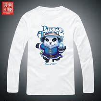 dota-blyx t恤 风暴之灵 Q蓝猫 菠萝印象海涛长袖大码男装秋 衣服 价格:49.00