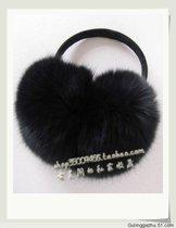 新款大号黑色狐狸毛耳套皮草耳包护耳耳捂耳罩四面狐狸毛买家秀女 价格:198.00