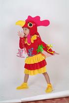 儿童动物服装 幼儿表演服装 大公鸡 价格:25.00