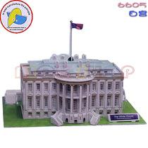 3D立体拼图※盒装美国白宫※3岁起无需工具安全培养动手能力 价格:15.00