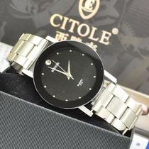 正品可的KEDE石英表男表女表情侣一对表男士休闲时装休闲石英手表 价格:25.00