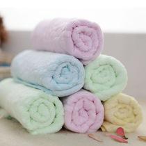 丝维特 加厚竹纤维美容毛巾 儿童洁面洗脸毛巾 卡通竹炭毛巾 价格:4.99