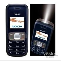 Nokia/诺基亚 1209老人学生简单方便实惠带手电直板彩屏手机1110 价格:60.00