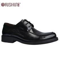 日顺皇正装男鞋特小37码特大码44 45 46 47码商务系带603393-11 价格:756.00