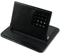 360度旋转车载防滑垫式导航仪支架 硅胶万能GPS支架车用 手机架 价格:15.80